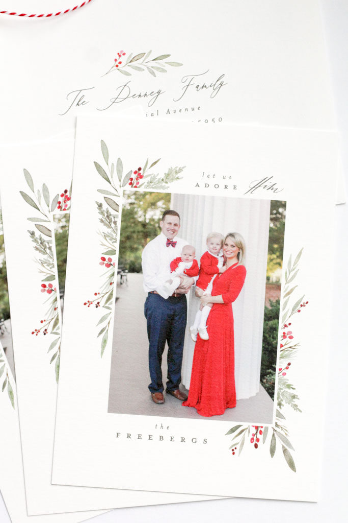 Addressed Christmas Cards.2018 Christmas Cards Home And Hallow